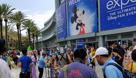 Disney's D23 expo includes Oprah, movie previews and lots of line waiting